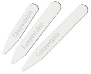 Circule biobased and compostable collar stays